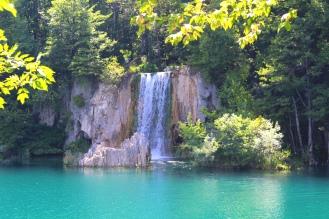 Cachoeira no Parque dos Lagos Plitvice