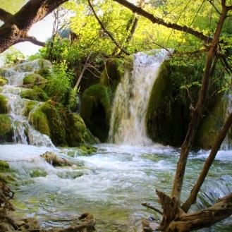 Uma das várias cachoeiras