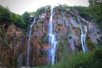 Essa cachoeira fica na parte mais baixa do parque, e é uma das mais altas