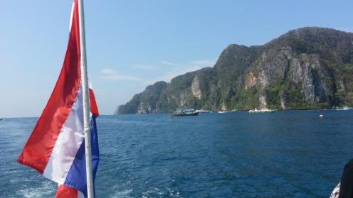Chegando em Phi Phi Don
