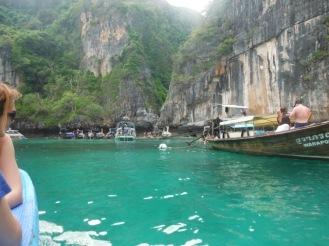 Chegada em Phi Phi Ley