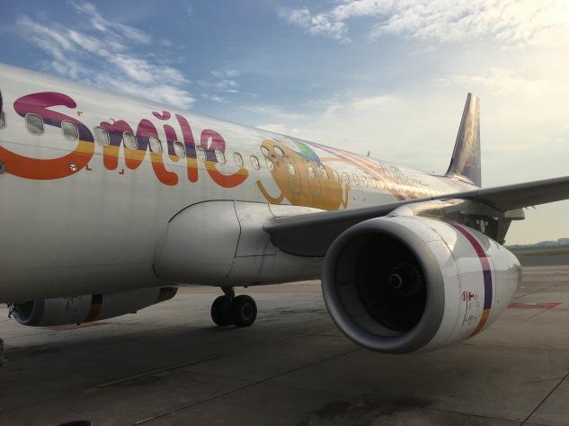 Nosso voo com a Thai Smile